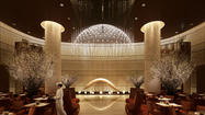 Asia: Hotel embraces cherry blossoms