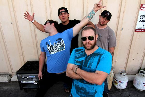 Huntington Beach-based rock band The Natural Thrill.
