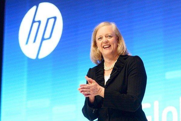 Meg Whitman spoke to HP shareholders on Wednesday.