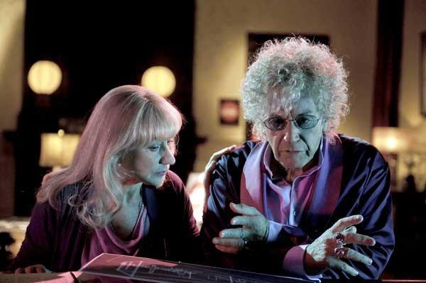 "Al Pacino and Helen Mirren in ""Phil Spector"" on HBO."