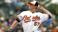 SARASOTA, Fla. — Although the Orioles aren't making any proclamations about their rotation with Opening Day looming in less than two weeks, <strong>Zach Britton's</strong> chances of going north with the club seemingly took a hit Wednesday as he failed to get out of the second inning in a Grapefruit League start against the Toronto Blue Jays.