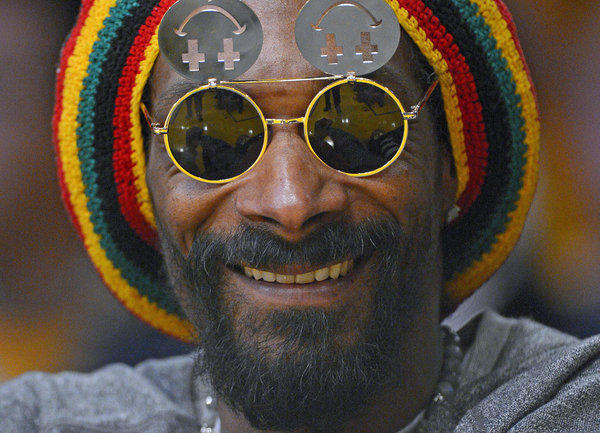 Rapper Snoop Dogg, reincarnated as Snoop Lion.