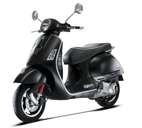 Vespa's GTS300SS Special Edition is a super sporty scooter with classic styling and first-class performance.