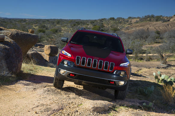 The all-new Jeep Cherokee.