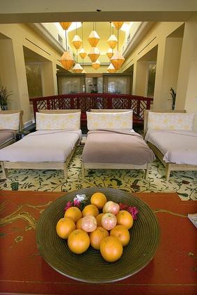 Need a facial, massage or some other pampering? The hotel's large Euro-Asian spa is just a short stroll from guestrooms.