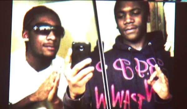 Shaqwone Ham, 19, (left) and his brother, Charles Wood, 18, were fatally shot Sunday, March 17, in Gary. Two teenagers are charged with murder in their slayings.