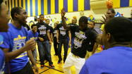 Video | Simeon players, students at victory rally