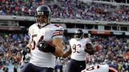 Bears middle linebacker Brian Urlacher