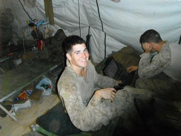 Lance Cpl. David P. Fenn II, 20, of Polk City, Fla. in undated photo.