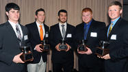 Local football players honored at 50th Annual Scholar Athlete Awards Dinner