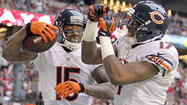 PHOENIX — Even though Bears players are scattered across the country, their new offense has begun to take shape.