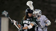 For at least one half, Loyola men's lacrosse coach Charley Toomey got a good, long look at what his team's defense could be, and he liked what he saw.