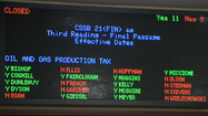 A divided Alaska Senate has passed an overhaul of Alaska's oil tax structure.