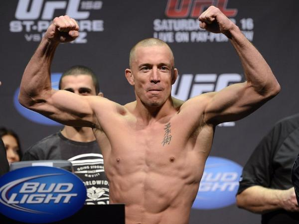 Georges St. Pierre retains top spot in Times' MMA rankings