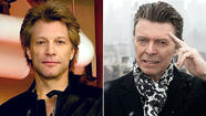 Bon Jovi and Bowie Chart Toppers