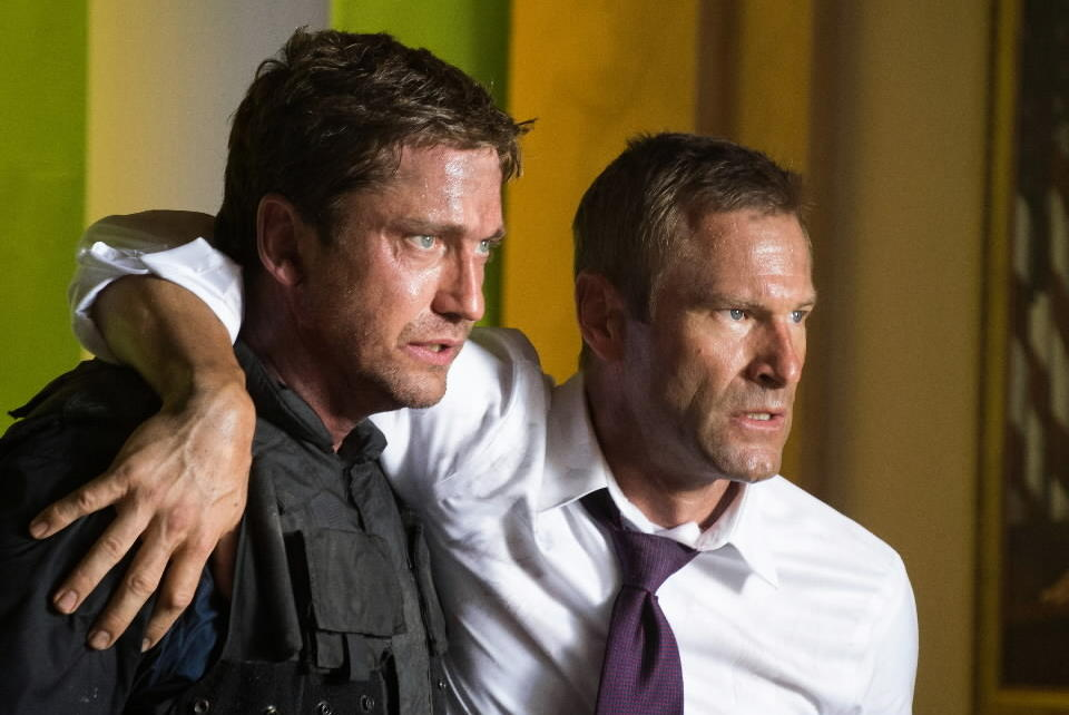 "<b>R; 1:53 running time</b><Br><br>This is ""Die Hard in the White House,"" with Gerard Butler manning up as Mike Banning, the lone Secret Service agent survivor after terrorists take over the White House and seize the president and most of the cabinet.<br><br><a href=http://www.chicagotribune.com/site/sc-mov-0319-olympus-has-fallen-20130322-8,0,7057072.story>Read the full ""Olympus Has Fallen"" movie review</a>"
