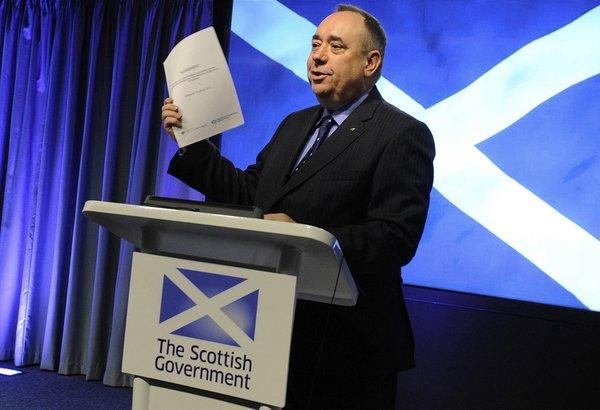 Scotland's first minister, Alex Salmond, shown at a news conference in October, announced Thursday that a referendum on Scottish independence will be held Sept. 18, 2014.