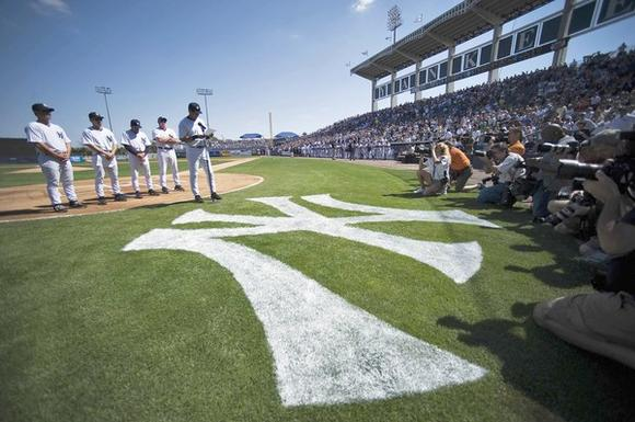 Spring Training: George M. Steinbrenner Field in Tampa
