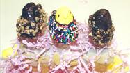 Chocolate Covered Peep Pops