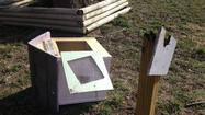 Photos: Little Free Library Destroyed