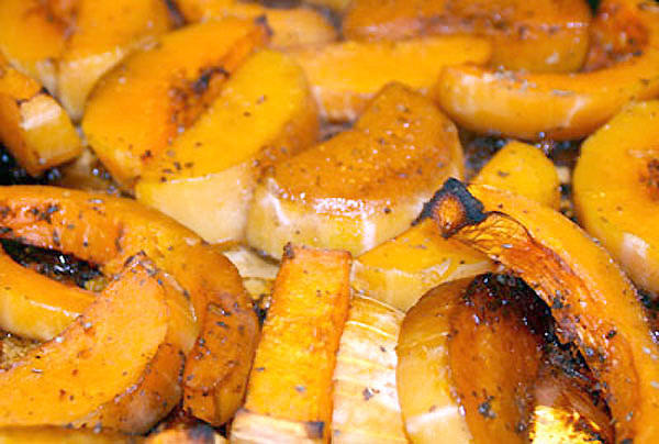 Roasted Sweet and Spicy Butternut Squash.