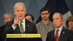 Biden, Bloomberg lean on Congress to act on guns