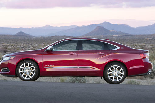 "<a href=""/news/consumerwatch/sns-2014-chevrolet-impala-review-20130316,0,4626586.story"">Mike Hanley of Cars.com writes:</a> The most surprising thing about the Impala is how well it handles serpentine roads. While the car doesn't feel small, it does feel smaller than its substantial exterior dimensions, and body roll is well-checked. The ride is firm but not harsh, which means you do still feel bumps, manhole covers and all the other things that make a road surface imperfect. The Impala floats a bit over bigger dips, but that's one of the rare times the suspension makes the car feel like a large car of old. <a href=""/news/consumerwatch/sns-2014-chevrolet-impala-review-20130316,0,4626586.story"">Full review</a>"