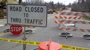 A water main break has closed South Main Street (Route 220 Business) in Rocky Mount, and it could be a few days before it reopens.