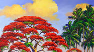 Get a brush with history when the famed Highwaymen painters exhibit and sell their vibrant works in Pompano Beach.