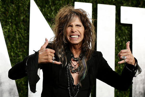 Steven Tyler attends the 2013 Vanity Fair Oscars Party in West Hollywood, California February 25, 2013.
