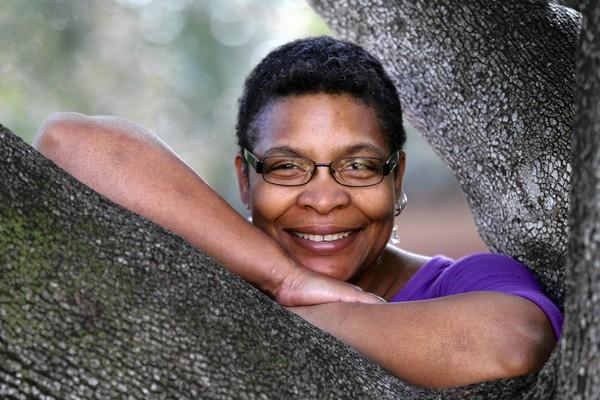 Nalo Hopkinson, novelist and a professor at UC Riverside.
