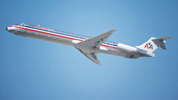 The MD-80 was certified for flight by the the Federal Aviation Administration in August 1980 and entered airline service in October of that year. It was in production for a little over nine years. American Airlines once held the largest fleet of MD-80s at 275. It now has 190 of the planes, and eventually plans to replace all of them with more fuel efficient models.
