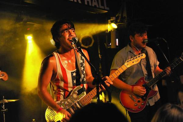 Fidlar performs during the 2012 CBGB Festival at Webster Hall on July 5, 2012, in New York City.