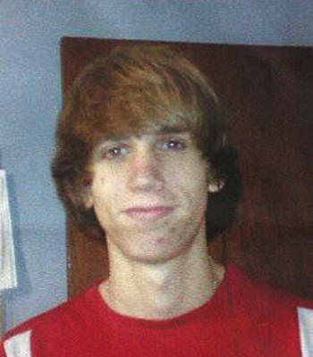Kenneth Chaffin, 17, in a photo provided by the Pottawatomie County Sheriff's Department, was one of two teens found shot dead outside a home in rural Texas.