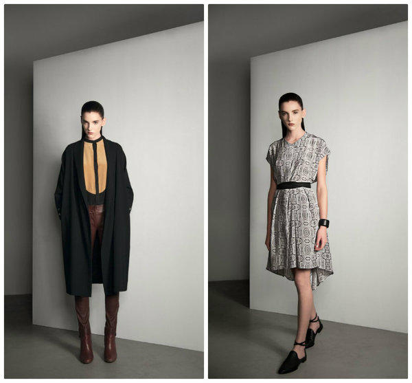 Looks from Cerre's fall-winter 2013 collection.