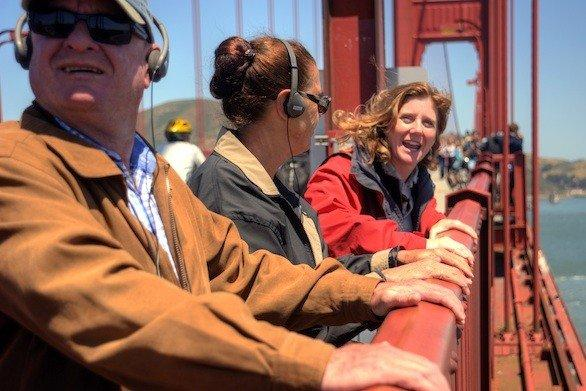 Golden Gate Bridge tours take visitors to the South Tower on the bridge's San Francisco side.