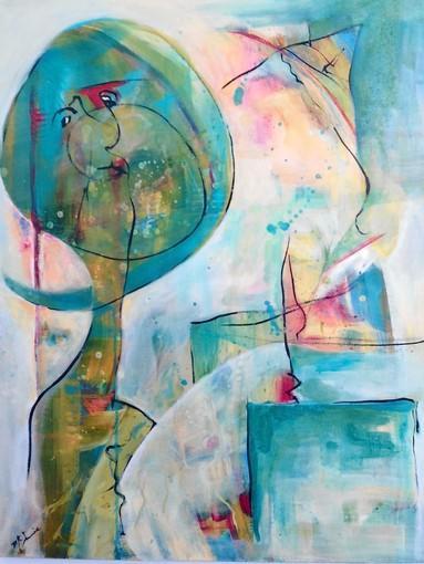 "Linda McInnis' ""Illusion"" is part of an exhibit at Gallery Q at the Susi Q."