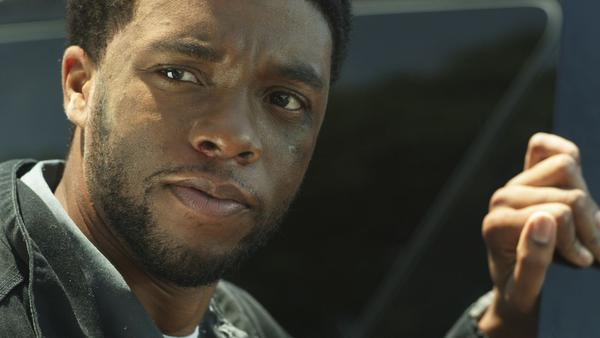 "Chadwick Boseman in ""The Kill Hole."""