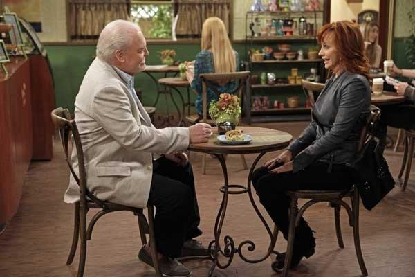 "Stacy Keach and Reba McEntire, in ""Malibu Country"" on ABC"