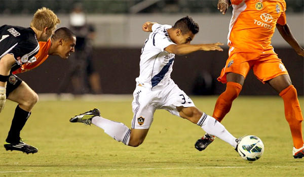 The Galaxy has moved its April 6 game against the Montreal Impact to Oct. 16 to avoid playing a game between its two legs of the CONCACAF Champions League semifinal.