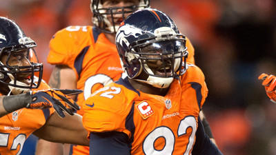 Ravens, Broncos competing for Elvis Dumervil, sources say