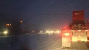 Snow forces traffic delays on I-44 near Marshfield