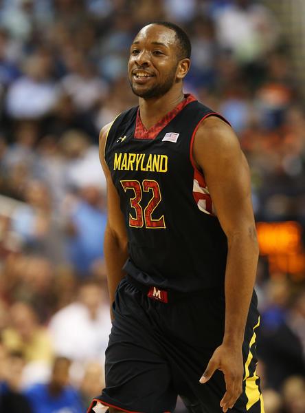 Dez Wells #32 of the Maryland Terrapins