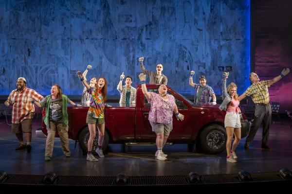 """Hands on a Hardbody"" opened on Broadway on Thursday."