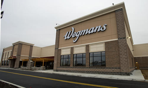 The Wegman's Allentown store, including it's new addition is pictured on Tuesday, March 12, 2013. Parts of the new addition will open March 21.