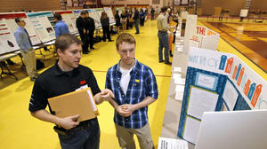 Students explore power of science