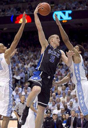 Duke at North Carolina