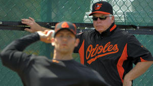 Orioles observation on Arrieta and Showalter