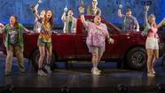 """Hands on a Hardbody,"" a musical about cash-strapped Texans competing for a shiny new pickup truck, pulled into Broadway on Thursday at the Brooks Atkinson Theatre in Manhattan."