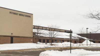 Petoskey Middle School will be among the locations for roofing and construction projects that the Petoskey school district plans in the months ahead.